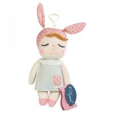 Malá závesná bábika MeToo v šedých šatách - 18 cm