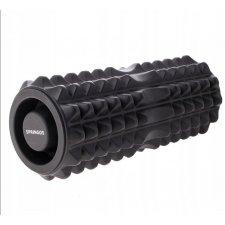 SPRINGOS Masážný VÁLEC GUM 33,5 x 13,5 cm - čierny