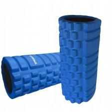 SPRINGOS Masážny VÁLEC YOGA FOAM ROLLER  32,5 x 14 cm - modrý