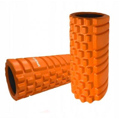 Masážný VÁLEC YOGA FOAM ROLLER  32,5 x 14 cm - oranžový