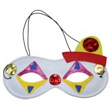 Maska na tvár veselý klaun