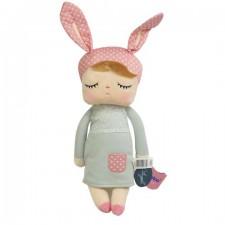 MeToo bábika v šedých šatách - 34 cm