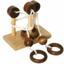 Mini hlavolam: Rope String Puzzle - Loops