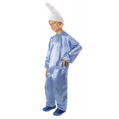 Kostým trpaslík šmolko modrý