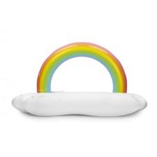 Nafukovací matrac obláčik s dúhou