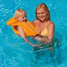 Nafukovacia plavecká vesta Swim Safe 51 x 46 cm BESTWAY