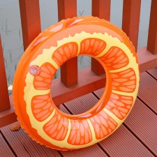 Nafukovacie koleso pomaranč 90cm