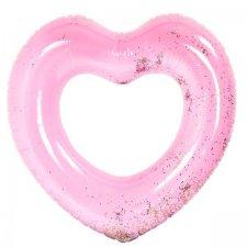 Nafukovacie srdce: Rúžové – 90 cm
