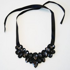 Náhrdelník Crystals Black
