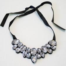 Náhrdelník Crystals Silver