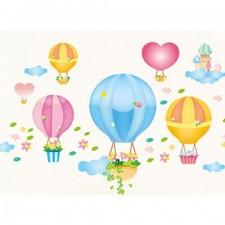 Nálepky na stenu - balóny