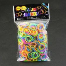 Gumičky na náramky - Svietiace v noci Jelly 600ks