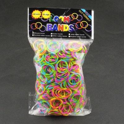 Gumičky na náramky - Mix farieb 600ks