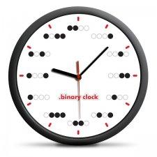Nástenné binárne hodiny – bodky