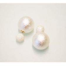 Náušnice Double Perleť