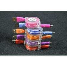 Navíjací kábel Micro USB