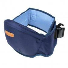 Bedrový nosič pre deti 2v1 - tmavo-modrý