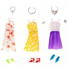 Oblečenie pre bábiky + doplnky