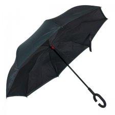Obrátený dáždnik: čierny