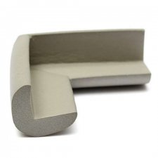 Ochranná guma na rohy 50x23x8 - sivá