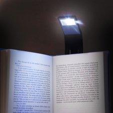 Ohybná lampička na knihu
