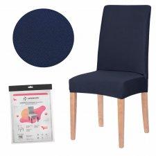 SPRINGOS Návlek na stoličku univerzálny - tmavý granát