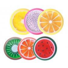 Ovocná vôňa do auta: S - 3-4 cm - 6ks