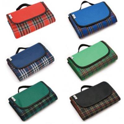 Pikniková deka pruhovaná 145x150 - rôzne farby