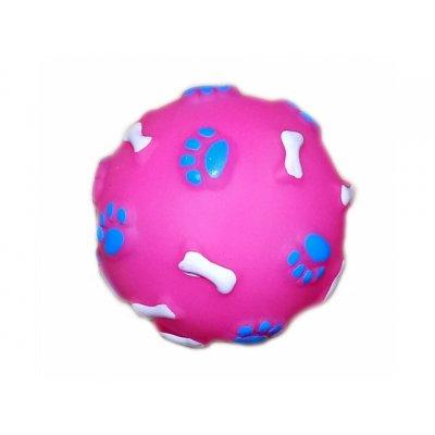 Pískajúca loptička pre psa – 2ks