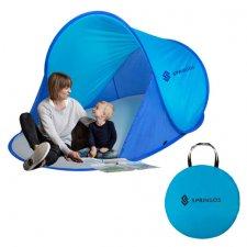 Plážový stan POP-UP Springos 120 x 200 CM - modrý