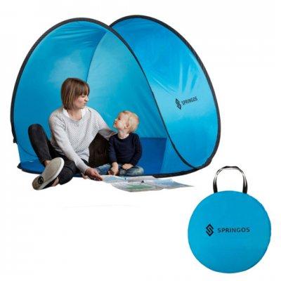 Plážový stan POP-UP Springos 150 x 120 CM - modrý