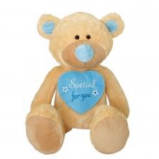Plyšová hračka medveď special for you modrý 80cm