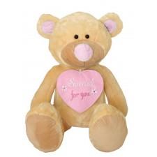 Plyšová hračka medveď special for you ružový 80cm