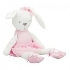 Plyšová hračka – zajačik v rúžovej - 42 cm