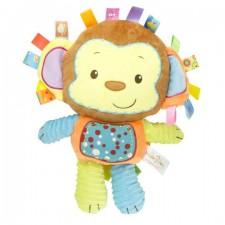 Plyšová hrkálka – opička - 35 cm
