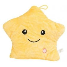 Plyšová lampa: Hviezdička - žltá, 38cm