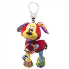 Plyšová pripínacia hračka – psík