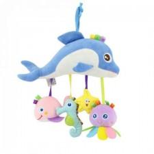 Plyšová závesná hračka – Delfín