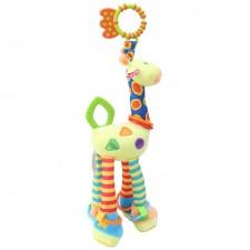 Plyšová závesná hračka - žirafa