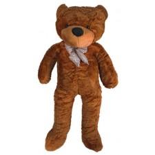Plyšový medveď 130 cm - tmavo hnedý