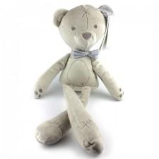 Plyšový medveď - sivý