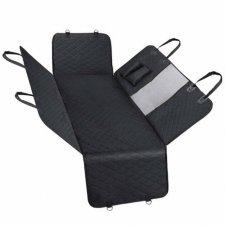 SPRINGOS Podložka pre psa na zadné sedadlo auta - čierna