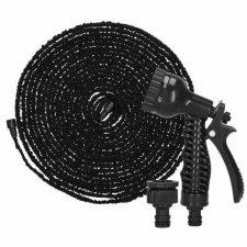 SPRINGOS Záhradná flexibilná hadica 20m - 60m - čierna