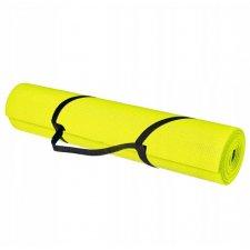 SPRINGOS Premium Fitness Yoga podložka - žltá
