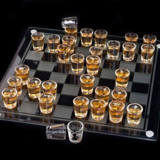 Alkoholové šachy Deluxe