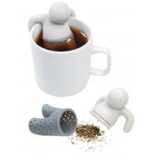 Silikónové sitko na sypaný čaj