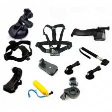 Príslušenstvo pre športové akčné kamery – GoPro – SJCAM - 11ks