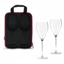 Puzdro s pohármi na víno