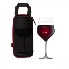 Puzdro s maxi pohárom na víno Who Cares