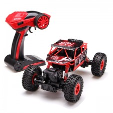 RC auto RC ROCK CRAWLER 1:18 4WD červený